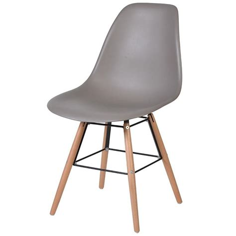 mocha moulded seat dining chair mulberry moon