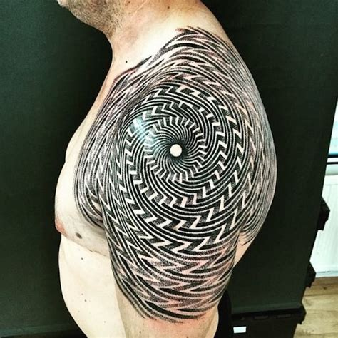 tattoo arm through hole 65 mesmerizing optical illusion tattoos tattooblend