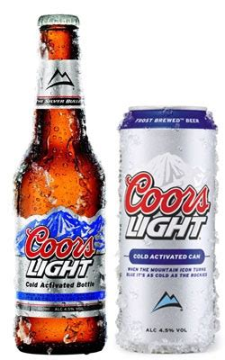 what type of beer is coors light millercoors rs advertising spend announces new coors