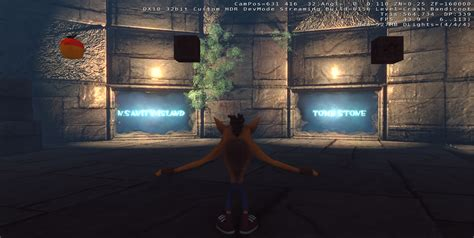 crash room the warp room image crash bandicoot returns mod db