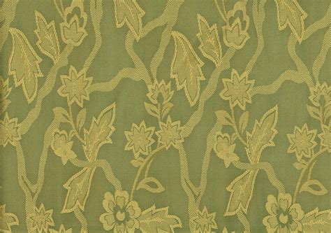 drapery and upholstery fabric 4 50 yards designer fabric printed drapery green damask