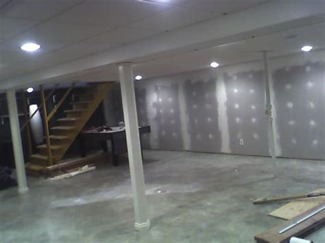 drywall basement ceiling rooms
