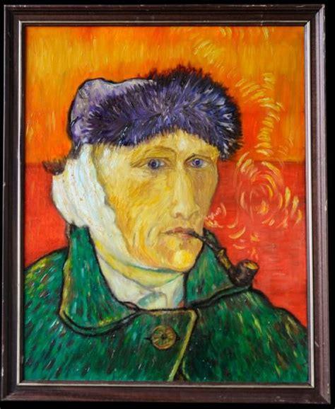 autoportrait gogh oreille 233 e
