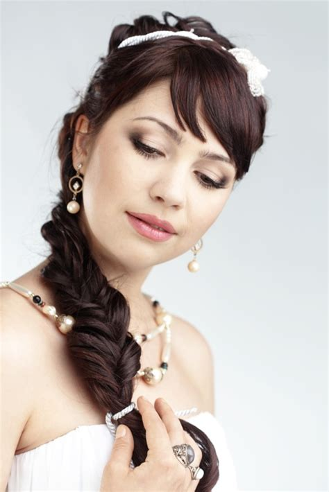Wedding Hairstyles Side Ponytail Braid by Hairstyles For 2015 Hairstyle
