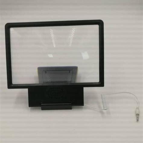 Pembesar Layar Screen Magnifier Bracket Stand 3d For Smartphone enlarge screen magnifier bracket stand 3d with speaker for smartphone black jakartanotebook