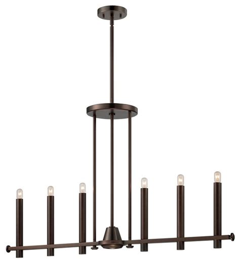 Linear Candle Chandelier Floating Candles Linear Chandelier With Downlight Chandeliers By Shades Of Light