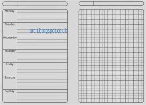 arc notebook templates 76 best templates images on calendar notebook