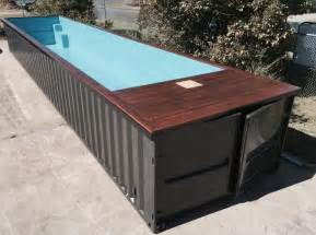 shipping container pools container swimming pools