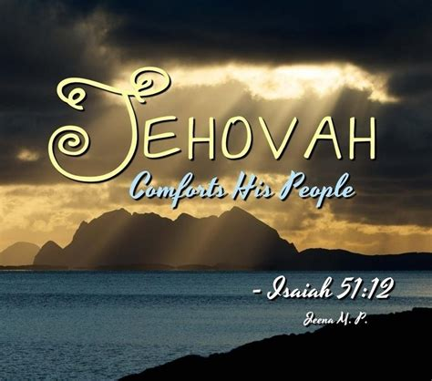 jehovah comforter 17 best ideas about isaiah 51 on pinterest bible art