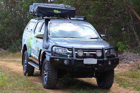 Ironman Side Awning by Holden Colorado Rg Dual Cab Grey 11111 Superior Customer