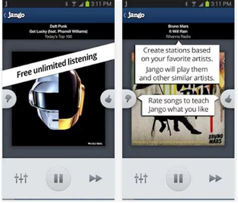 jango radio apk las mejores aplicaciones para escuchar la radio en android