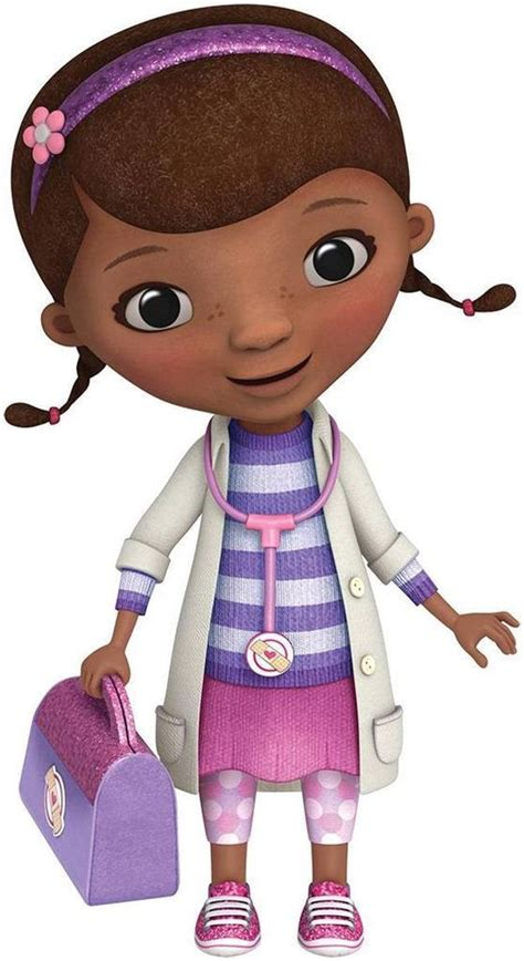 doc mcstuffins disney decal removable wall sticker home