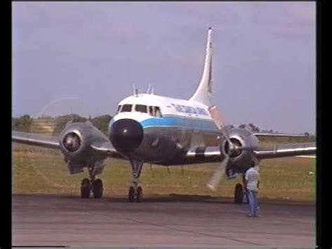 trans dominican airways convair 440 youtube