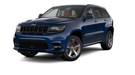 blue jeep grand cherokee jeep 174 grand cherokee srt luxury performance suv