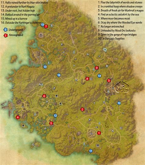 skyshard eso locations map eso greenshade skyshards guide dulfy