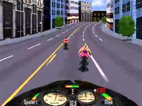 Motorradrennen Game road rash die halbinsel ebene 1 youtube