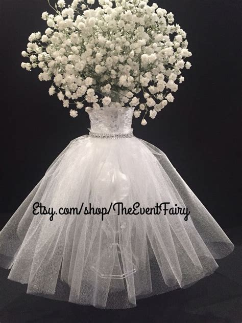 Centerpiece Wedding Dress Vase in 2019   Wedding   Bridal