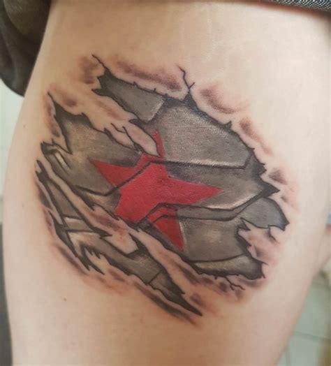 winter soldier tattoo best 25 soldier ideas on chest