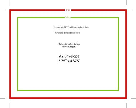 14 Envelope Template