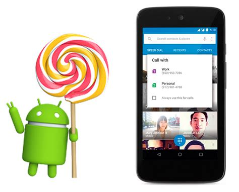 android 5 1 update android lollipop 5 1 update becomes official with new features