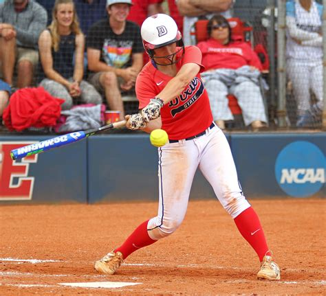 softball swing vs baseball swing dsu softball red storm sweep their way back to nationals