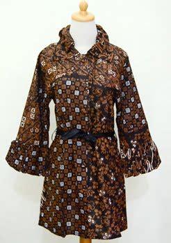 X73 Maureen Batik Gamis ethnic dress dress batik modern