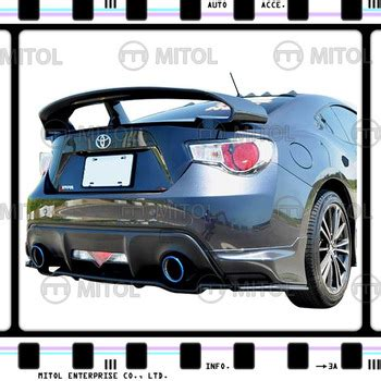 scion gtr price spoiler for gtr style toyota 86 fr s brz kits buy