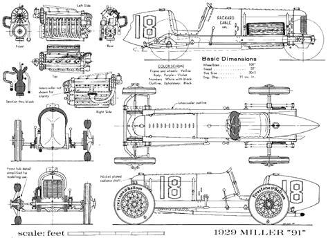 car plans car blueprints чертежи автомобилей other cars