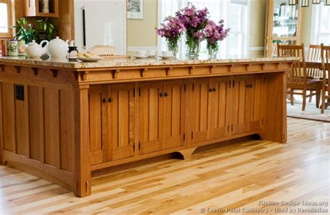 mission style kitchen island kitchen idea of the day craftsman kitchens by crown