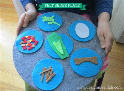 passover crafts 15 diy passover seder plates your will to make