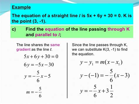 How To Search In Line Coordinate Geometry