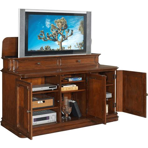 TV Lift Cabinet   AT004310   Banyan Creek Lift for Large