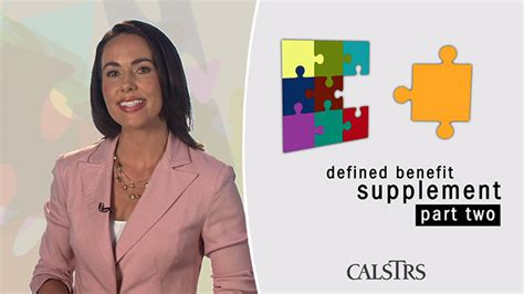 supplement program defined benefit supplement program part two calstrs