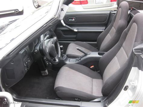 Mr2 Spyder Interior by Black Interior 2001 Toyota Mr2 Spyder Roadster Photo