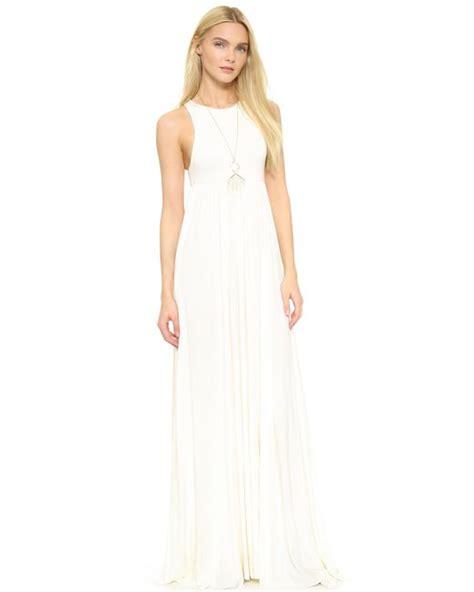 Ens Dress Racel Spandex Soft 45 pally anya maxi dress in white save 2 lyst