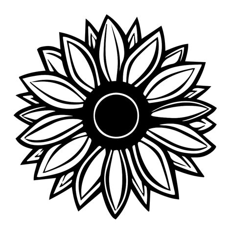 Orange And White Kitchen Ideas by Sunflower Silhouette Vinyl Sticker Car Decal
