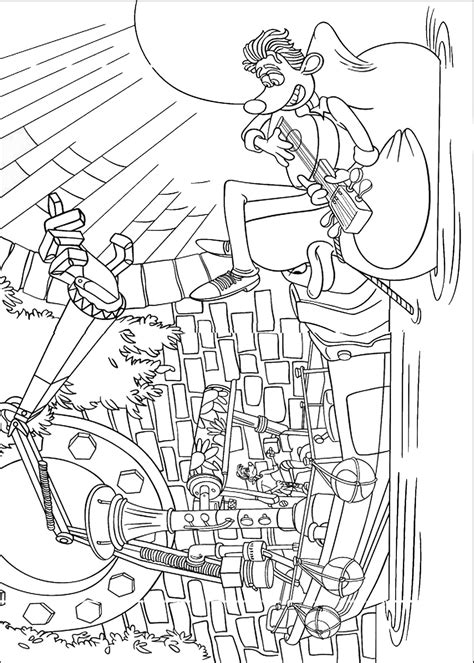 Flushed Away Coloring Pages