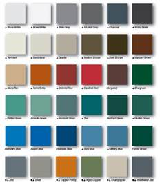 steel siding colors housecraft service company steel roofing