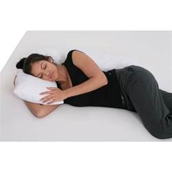 Indulgence Side Sleeper Pillow Reviews by L Side Sleeper Pillow White L Pillows For
