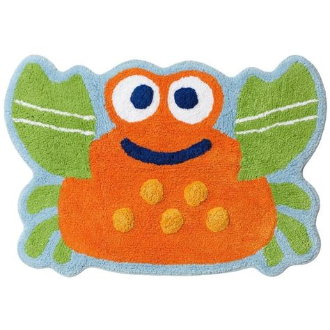 fish bath rug jumping beans fish tales crab bath rug 20 quot x30 quot cotton machine wash new beans fish tales and rugs