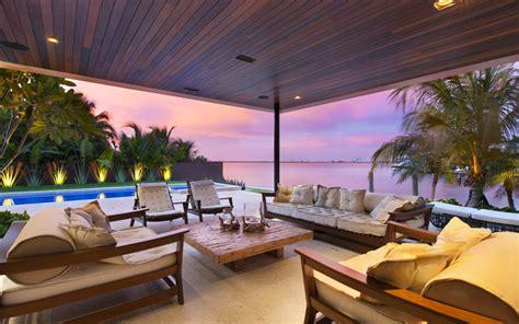 elegant beachside house design in miami beach modern a new modern miami beach home with spectacular sea view