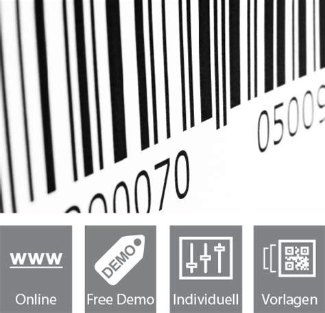 Barcode Etiketten Drucken Online by Kostenlose Qr Code Software Online Gratis Barcodes