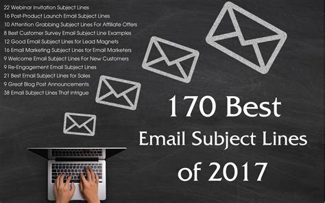 170 Best Email Subject Lines of 2017   Stellar Platforms