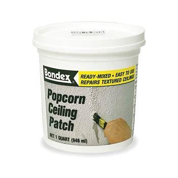 buy the rust oleum 76084 bondex popcorn ceiling patch