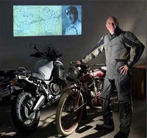 former daytona racer don emde to ride the 1914 trek of