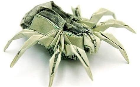 Coolest Origami - stunning origami made using only money i like to waste