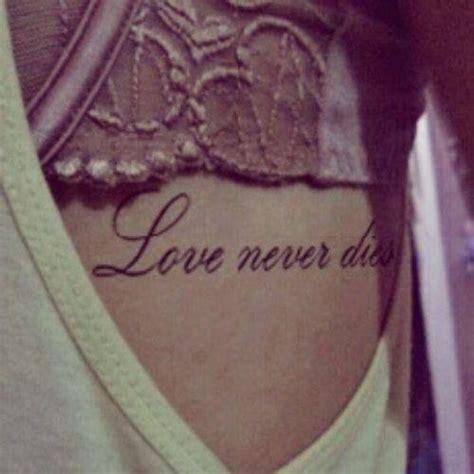 tattoo love never dies blog de love never dies hstyles love never dies