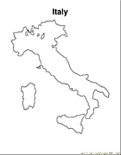 italy coloring pages italy map free colouring pages