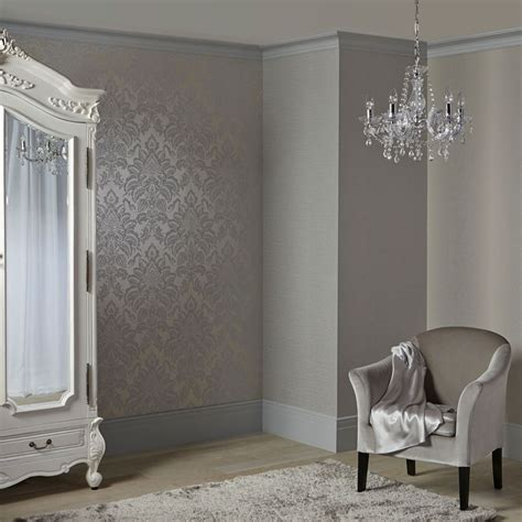 glitter wallpaper liverpool precious metals glisten damask platinum wallpaper gold