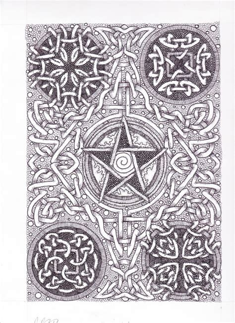 doodle pentagram 1000 images about pentacle on wiccan amulets